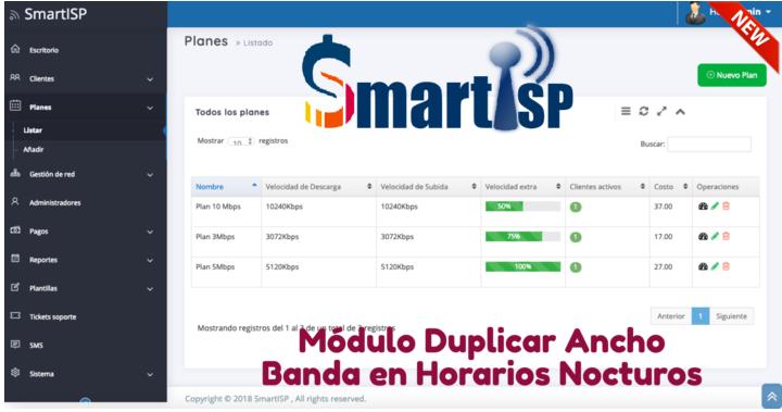 Cómo Duplicar Ancho de Banda en Horarios Nocturnos con Mikrotik & SmartISP